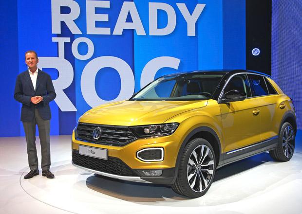 Volkswagen T-Roc poprvé na vlastní oči: Na Volkswagen fakt odvaz!