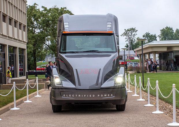Cummins AEOS je elektrický tahač od výrobce vznětových motorů