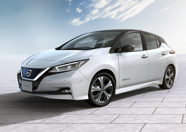 Druhá generace Nissanu Leaf je tu. Dojede mnohem dále a vypadá podstatně lépe