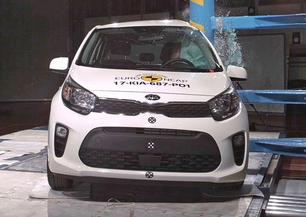 Euro NCAP 2017: Kia Picanto – Tři, nebo čtyři hvězdy?