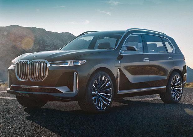 BMW X7 Concept: Nejluxusnější mnichovské SUV na prvních fotkách!