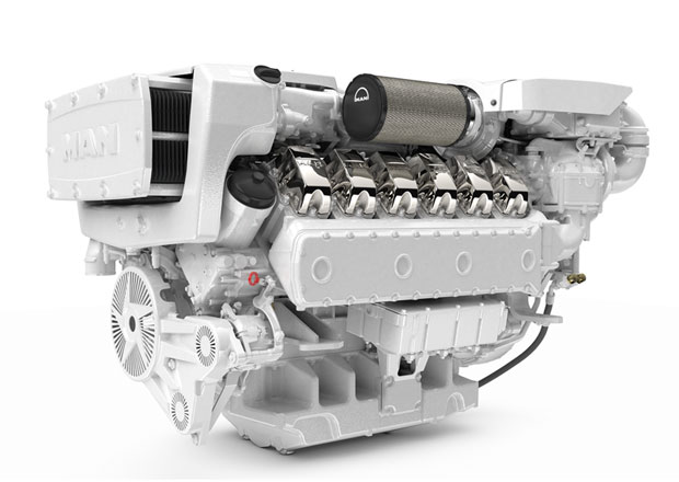 MAN Engines se stal dodavatelem vznětových dvanáctiválců pro nové jachty Riviera