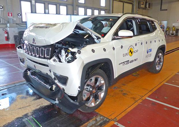 Euro NCAP 2017: Jeep Compass – O tři hvězdy více než předchozí generace