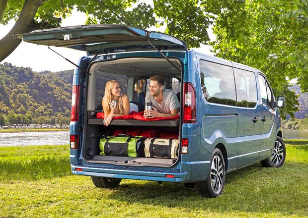 Opel Vivaro Life má být jako motel na kolech