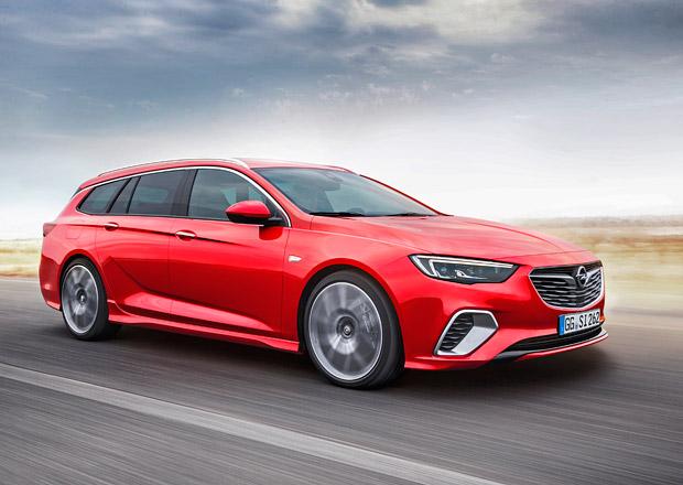 Opel Insignia GSi Sports Tourer nastupuje s peprným turbodieselem