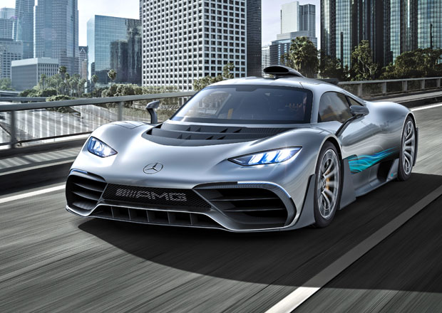 Mercedes-AMG Project One je jako Formule 1 pro dva