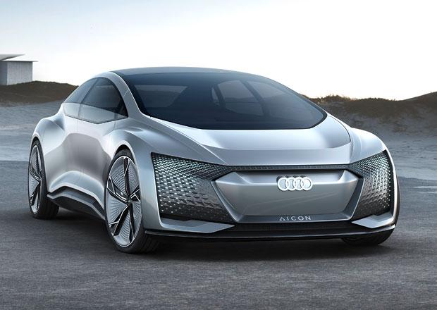 Audi Aicon: Luxusní fastback bez volantu a pedálů