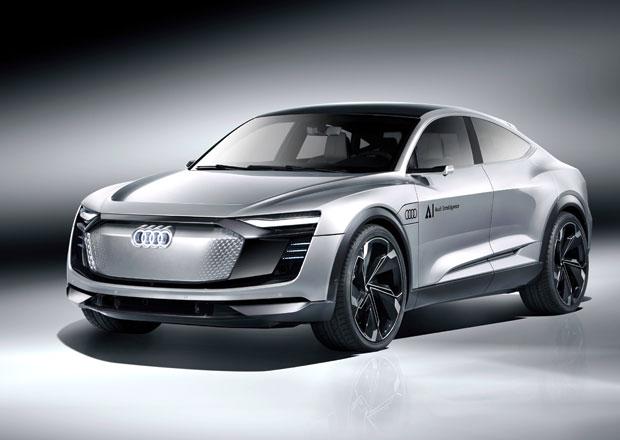 Elektrické Audi Elaine umí jezdit samo a za volantem vás uklidní