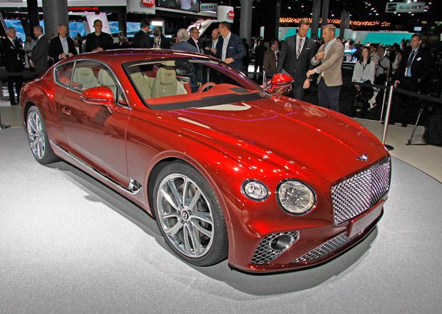 Bentley Continental GT naživo: Fotky neklamaly, vypadá fantasticky!