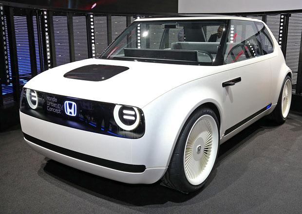 Honda Urban EV Concept: Do města a čistě