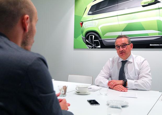 Rozhovor s Lubošem Vlčkem: Elektrická Škoda zná svoji cenu. A jak to bude s Rapidem?