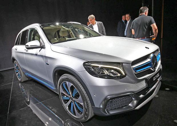 Mercedes-Benz GLC F-Cell zamíří s vodíkovými palivovými články na trh