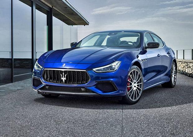 Maserati Ghibli s omlazeným designem a dvojicí nových výbav i v Evropě