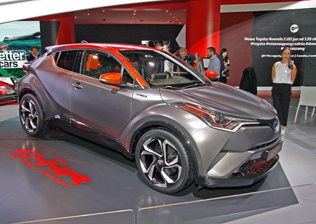 Toyota C-HR Hy-Power má nabídnout více stylu i výkonu