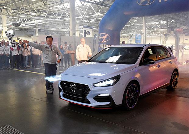 Výroba Hyundai i30 N zahájena. Z Nošovic ale letos moc hot hatchů nevyjede