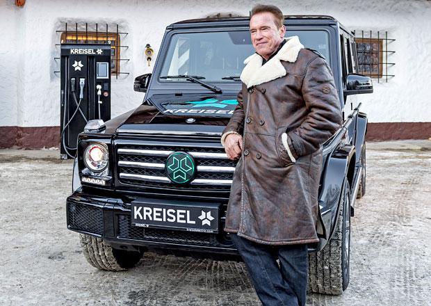 Co má společného tento Mercedes G a Škoda Yeti? Terminátor to není...