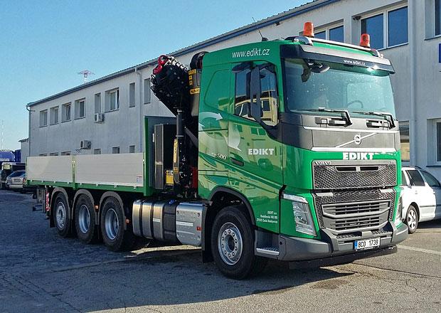 Volvo FH 8x4 tridem pro společnost EDIKT