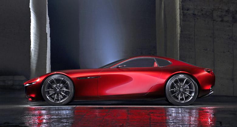 Mazda: Nový koncept s motorem Wankel potvrzen pro Tokio