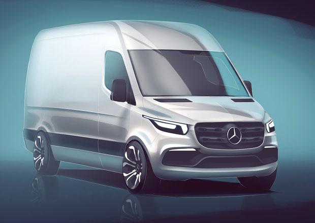 Mercedes-Benz zve na premiéru nové generace modelové řady Sprinter