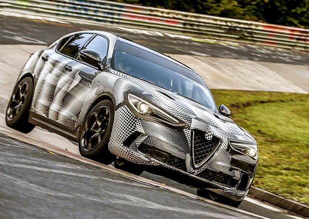 Alfa Romeo Stelvio QV je nejrychlejší SUV na Severní smyčce. Podívejte se na její rekordní jízdu