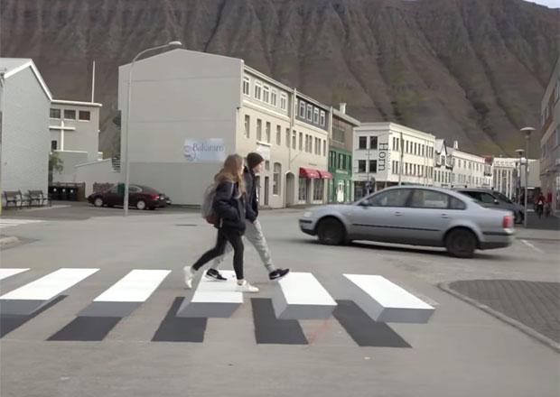 Na Islandu se chlubí unikátním přechodem pro chodce. U nás se ale používá už dávno...