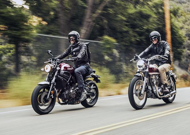 Yamaha XSR700 a XSR900 vzpomínají na slavné předky