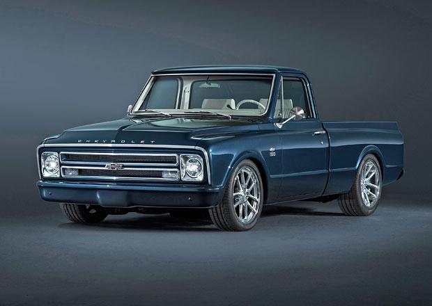 Chevrolet oslavuje 100 let svých užitkových vozidel úchvatným pick-upem