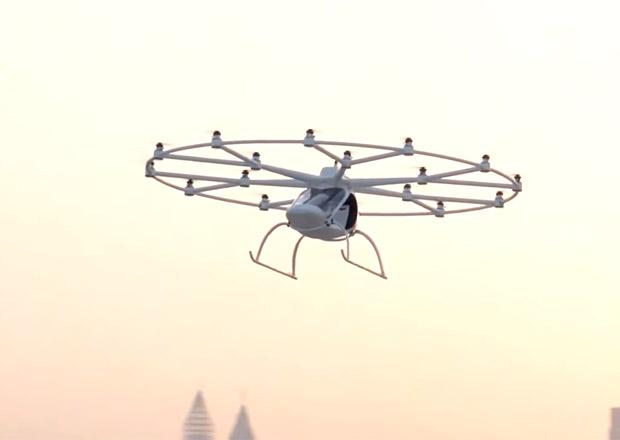 Taxi, nebo Uber? Za pár let rozšíří nabídku autonomní drony, takhle jej testují v Dubaji
