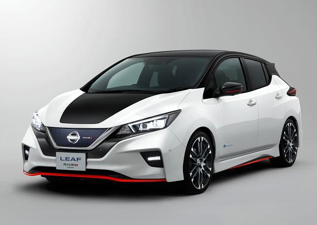 Nissan Leaf Nismo Concept odhaluje sportovnější tvář elektromobilu