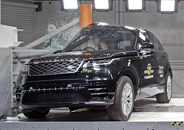Euro NCAP 2017: Range Rover Velar – Nejsportovnější zástupce značky získal plný počet hvězd