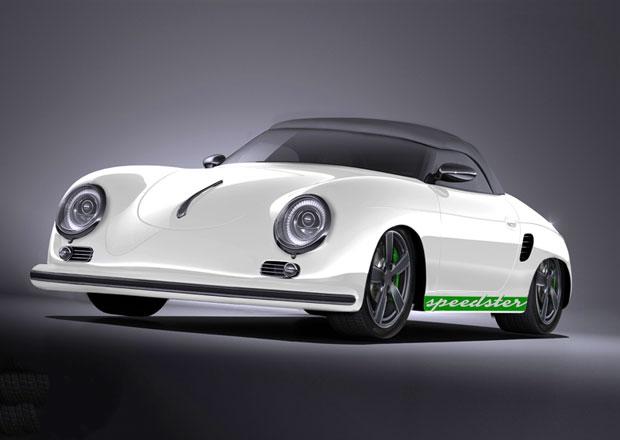 Stärke Speedster: Podivnost spojující techniku Porsche Boxster s vizáží klasického 356 Speedster