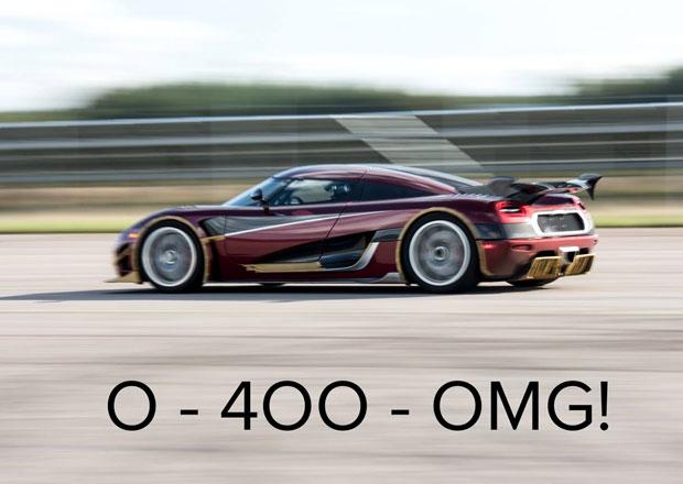 Bugatti se radovalo jen chvíli. Rekord z 0-400-0 km/h má po pár týdnech nového držitele!