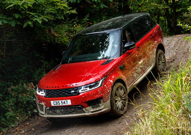 Range Rover Sport: Modernizace přinesla plug-in hybrid i výkonnější SVR