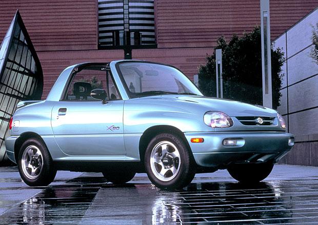 Suzuki X-90 (1995-1997): Málo známá targa pro dva. Do terénu!