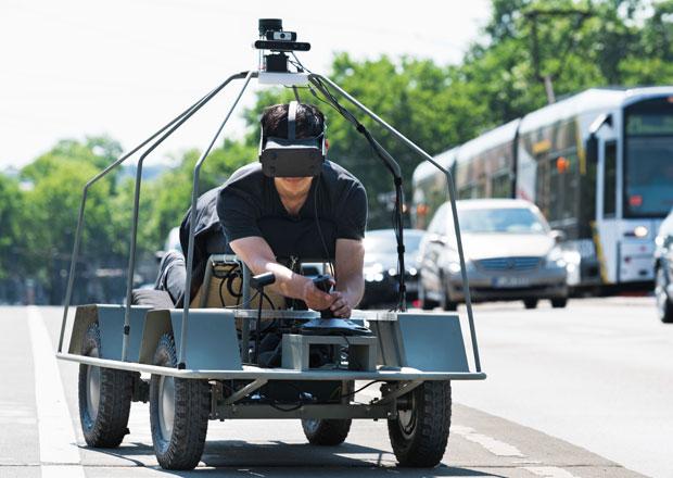 Jak vidí svět autonomní vozy? Příležitost dává speciál s virtuální realitou