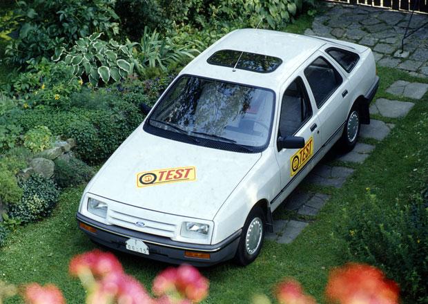 Slavné dobové testy: Co říkali redaktoři v roce 1986 na Ford Sierra 1.6?