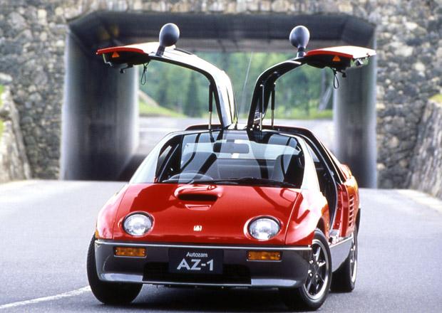 Autozam AZ-1 (1992-1995): Maličké japonské autíčko s křídly byl totální propadák