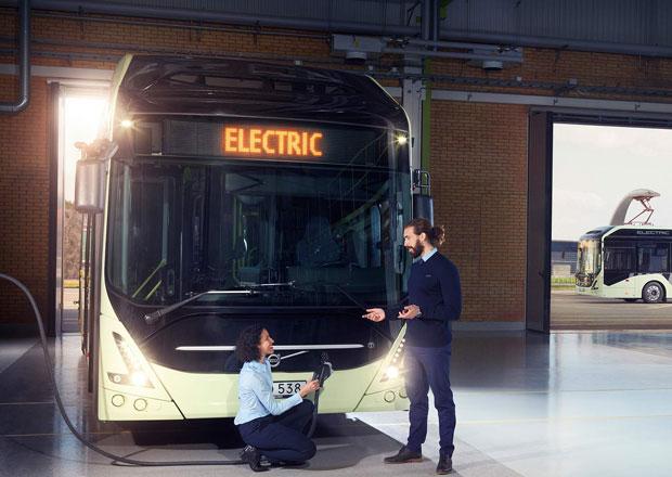 Volvo Buses 7900 Electric nastupuje s novými bateriemi