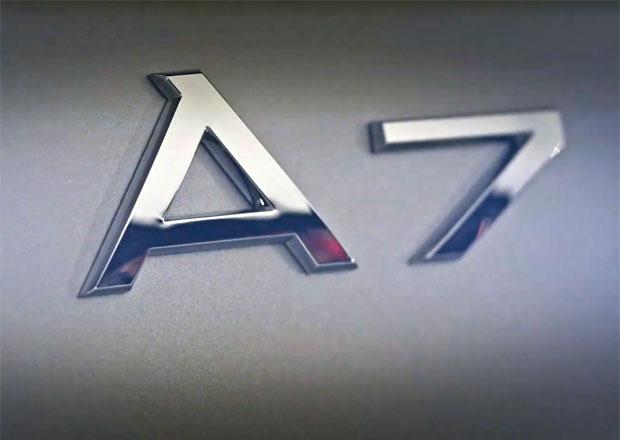 Audi začíná odhalovat nový model. Podívejte se na A7 Sportback ještě před premiérou