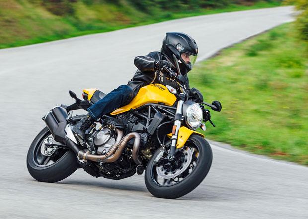Ducati Monster 821 připomíná 25. výročí zrodu své modelové řady