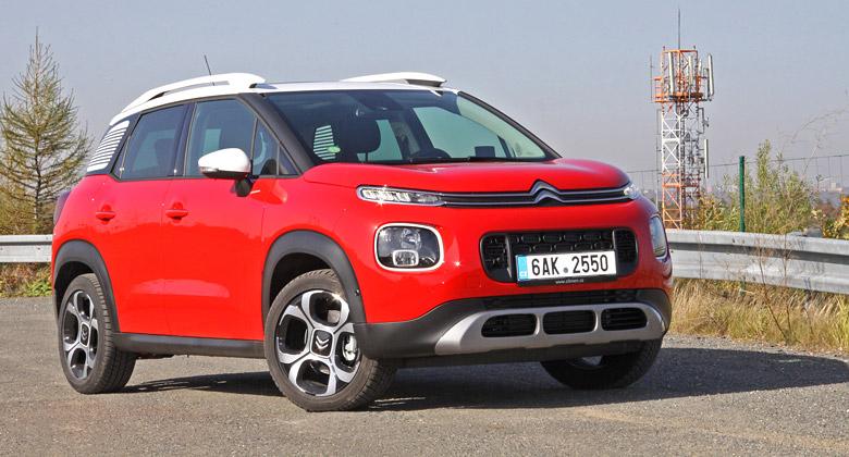 Krátké svezení s Citroënem C3 Aircross: Stylový pohodář