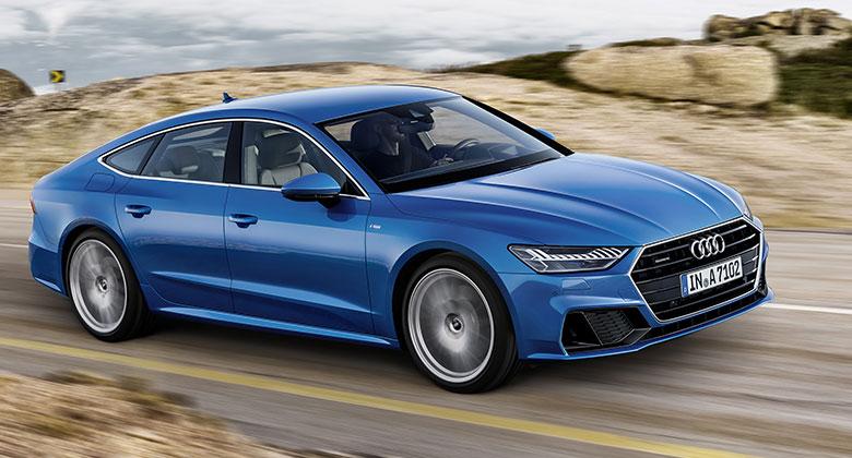 Nové Audi A7 Sportback odhaleno. Evoluce tvarů, revoluce techniky