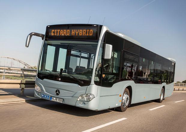 Mercedes-Benz Citaro hybrid: Novinka pro nižší spotřebu