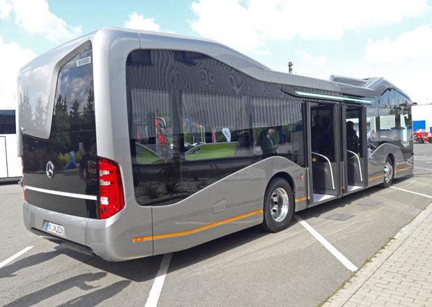 Mercedes-Benz Future Bus: Naživo