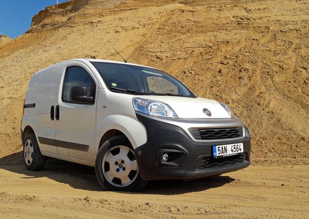 Fiat Fiorino Van 1.3 Multijet SX: Bez AdBlue (dlouhodobý test 1. část)