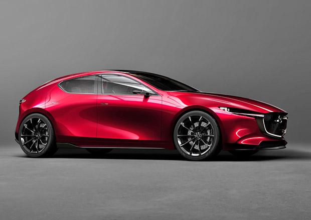 Mazda představuje dva nové koncepty. Krásný sedan a vizi nové trojky