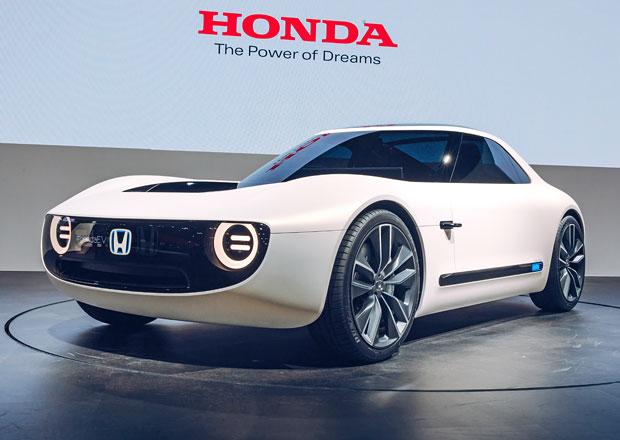 Honda Sports EV je další krásný retro elektromobil. Bude se vyrábět jako Urban EV?