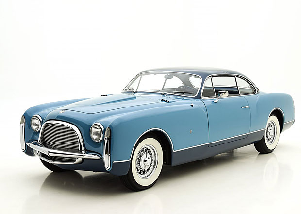 Chrysler Ghia Special Coupé (1953): Vzácný italský Američan je k mání. Za patřičnou sumu