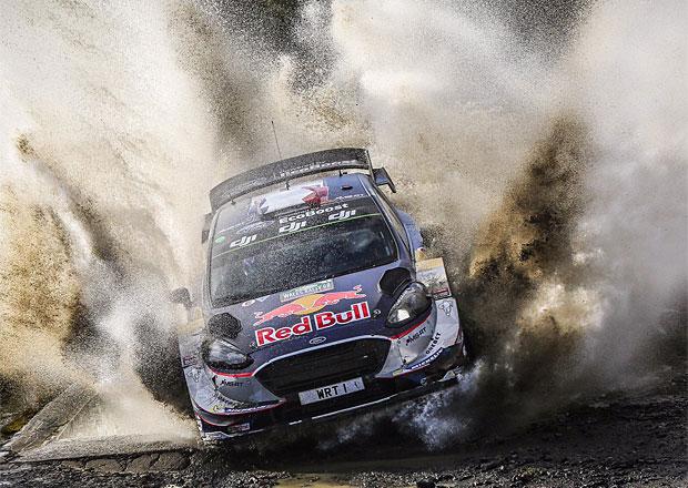 Britská rallye v cíli: Evans vyhrál, Ogier mistrem