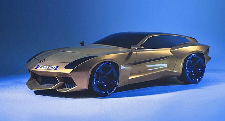 Lamborghini po SUV zvažuje další model. Tenhle kombík by se nám hodně líbil!